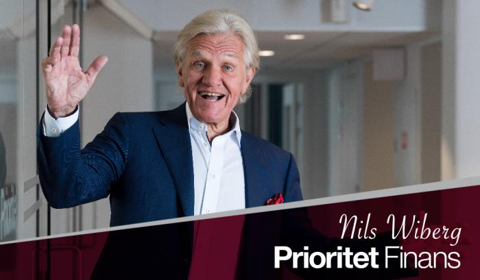 Vårhälsning från Nils Wiberg Prioritet Finans