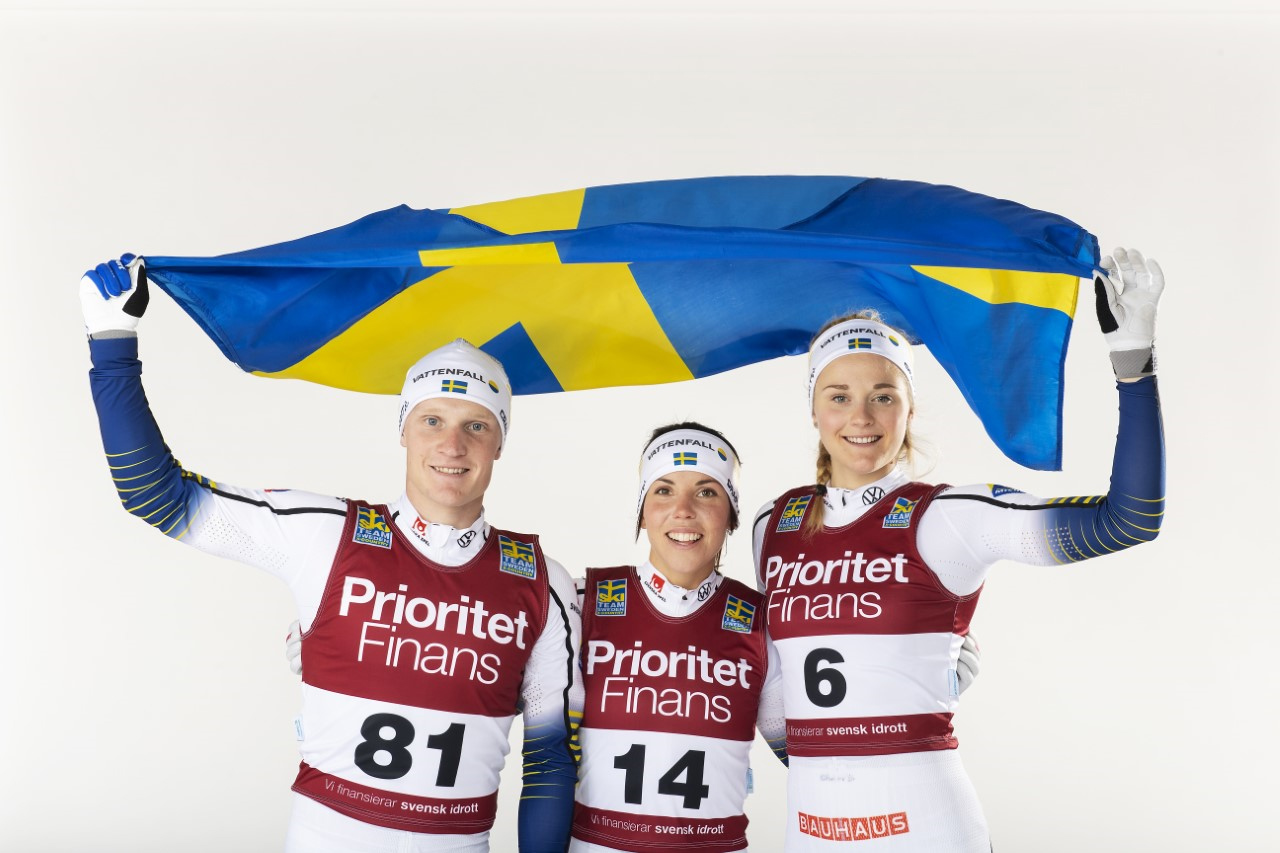 Prioritet Finans tecknar treårigt samarbetsavtal med svensk längdskidåkning